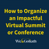how to organize an impactful virtual summit or conference - thumb